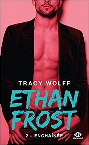 Couverture Ethan Frost, tome 2 : Enchaînée