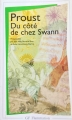 Couverture Du côté de chez Swann Editions Flammarion (GF) 1987