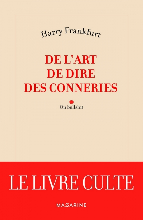 Couverture De l'art de dire des conneries