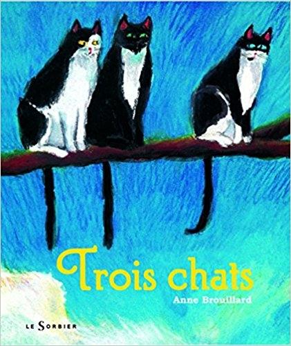 Couverture Trois chats