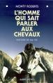 Couverture L'homme qui sait parler aux chevaux Editions Albin Michel 1997
