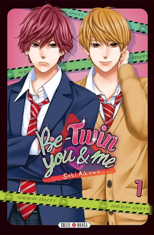 Couverture Be-twin you & me, tome 1