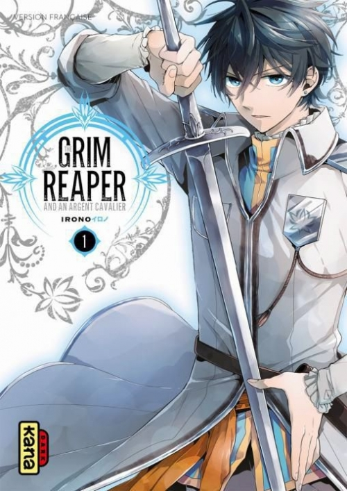 Couverture The grim reaper and an argent cavalier, tome 1