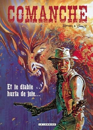 Couverture Comanche, tome 09 : Et le diable hurla de joie...