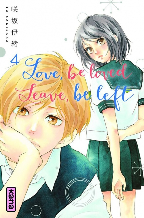 Couverture Love, be loved, Leave, be left, tome 4
