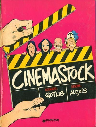 Couverture Cinemastock, tome 1