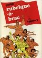 Couverture Rubrique-à-brac, tome 3 Editions Dargaud 1986