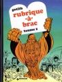 Couverture Rubrique-à-brac, tome 2 Editions Dargaud 1987