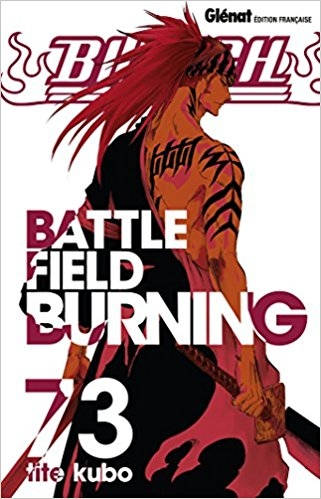 Couverture Bleach, tome 73 : Battle Field Burning