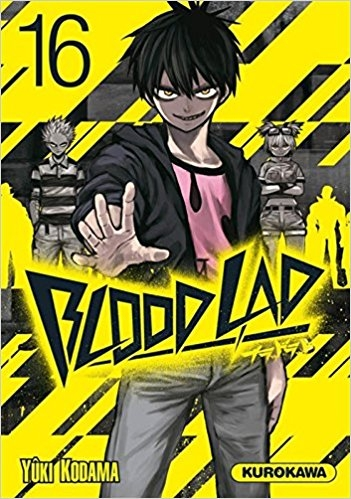 Couverture Blood lad, tome 16
