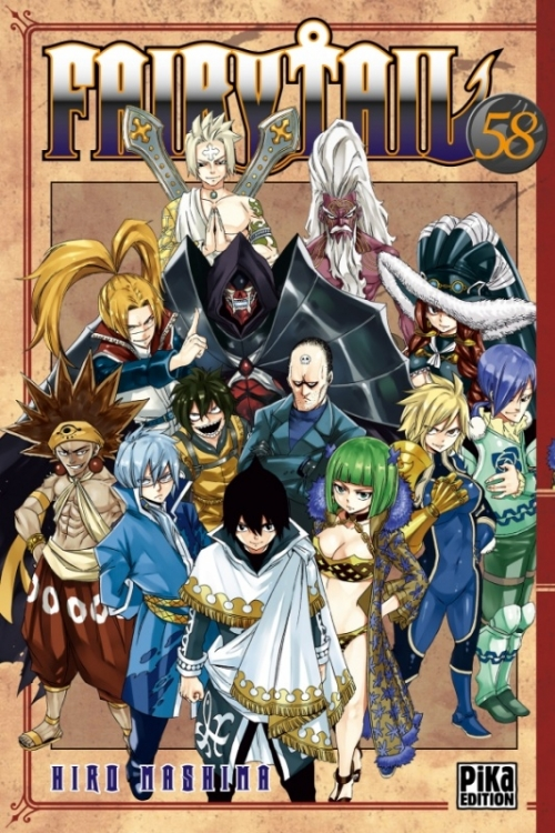 Couverture Fairy Tail, tome 58