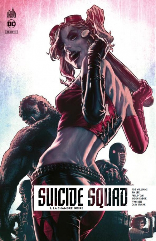 Couverture Suicide squad rebirth, tome 1 : La chambre noire