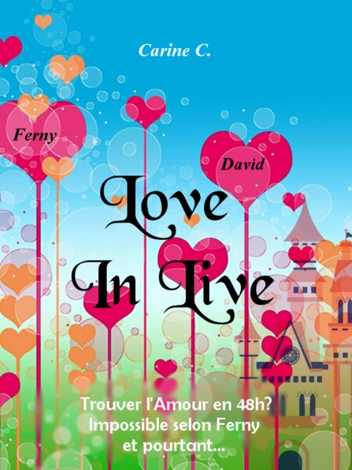 Couverture Love in live