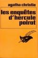 Couverture Les enquêtes d'Hercule Poirot Editions Le Masque 1983