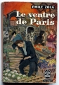 Couverture Le ventre de Paris Editions Le Livre de Poche 1957