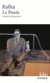 Couverture Le procès Editions Folio  (Classique) 2015