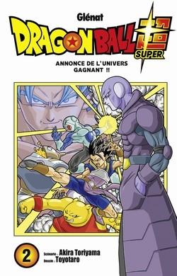 Couverture Dragon Ball Super, tome 2 : Annonce de l'univers gagnant