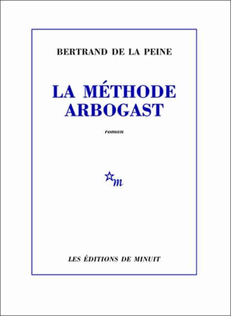 Couverture La méthode Arbogast
