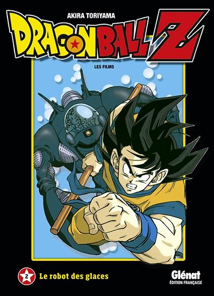 Couverture Dragon Ball Z : Les films, tome 02 : Le robot des glaces