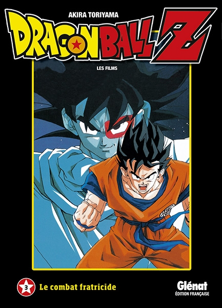 Couverture Dragon Ball Z : Les films, tome 03 : Le combat fratricide