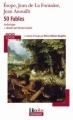 Couverture 50 fables Editions Folio  (Plus classiques) 2010