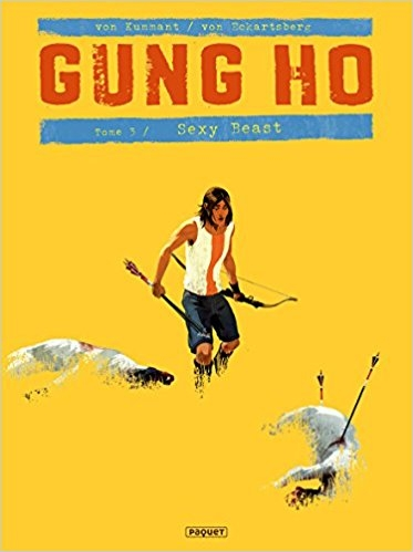 Couverture Gung Ho, tome 3 : Sexy Beast