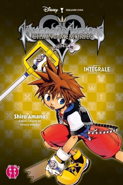 Couverture Kingdom Hearts : Chain of Memories, intégrale