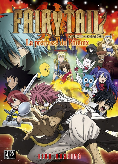 Couverture Fairy Tail : La prêtresse du Phoenix