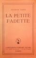 Couverture La petite Fadette Editions Librairie Joseph Gibert 1965