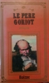 Couverture Le père Goriot Editions France Inter 1987