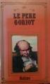 Couverture Le Père Goriot Editions France Inter 1987