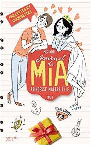 Couverture Journal d'une princesse / Journal de Mia : Princesse malgré elle, tome 04 : Une princesse dans son palais / Paillettes et courbettes