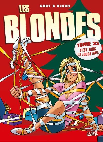 Couverture Les blondes, tome 23 : C'est tous les jours Noël