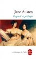 Couverture Orgueil et préjugés Editions Le Livre de Poche (Les classiques de poche) 2011