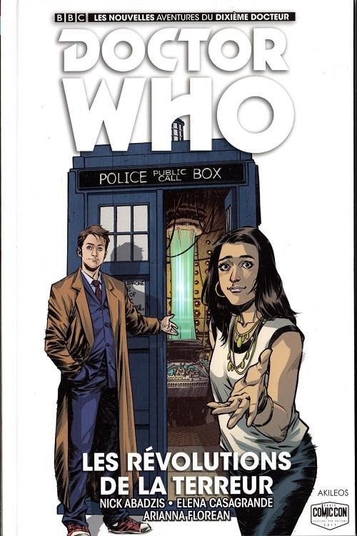 Couverture Doctor Who : Le dixième docteur, tome 1 : Les révolutions de la terreur