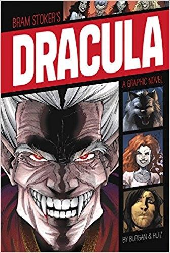 Couverture Dracula, a graphic novel