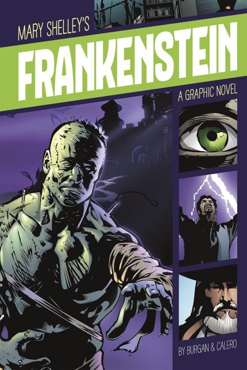 Couverture Frankenstein (Comics)