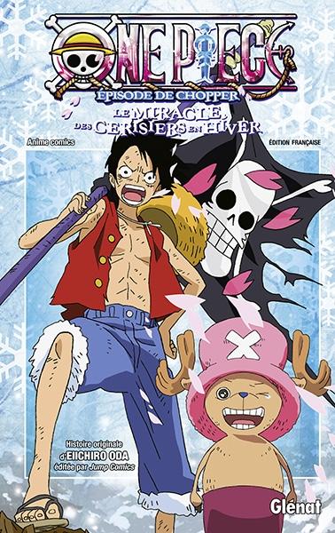 Couverture One Piece : L'épisode de Chopper : Le miracle des cerisiers en hiver