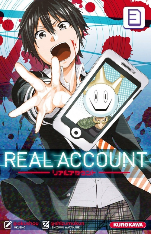 Couverture Real account, tome 03