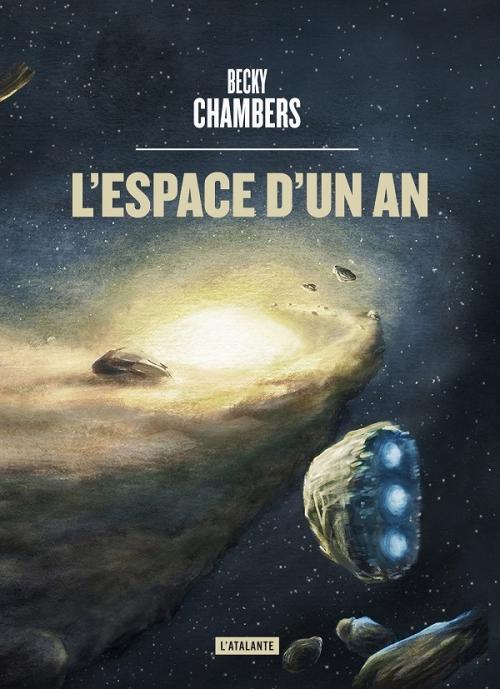Couverture Wayfarers, tome 1 : L'espace d'un an