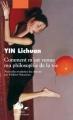 Couverture Comment m'est venue ma philosophie de la vie Editions Philippe Picquier (Japon) 2006