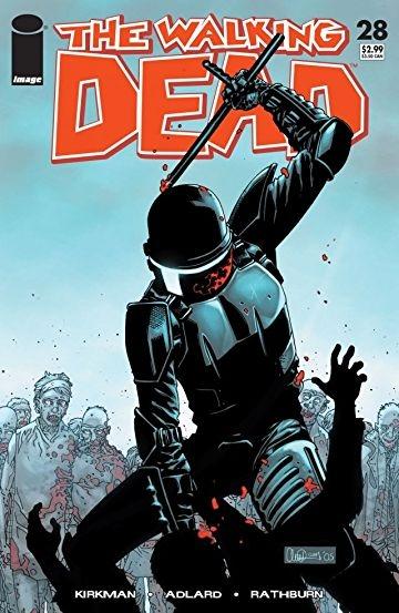 Couverture Walking dead, tome 05 : Monstrueux