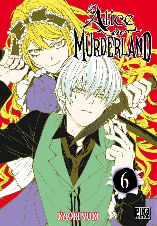 Couverture Alice in murderland, tome 06