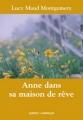 Couverture Anne dans sa maison de rêve Editions Québec Amérique (QA compact) 2005