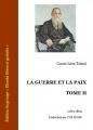 Couverture La guerre et la paix (3 tomes), tome 2 Editions Ebooks libres et gratuits 2012