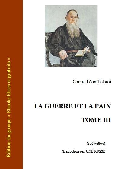 Couverture La guerre et la paix (3 tomes), tome 3