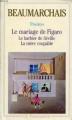 Couverture Le barbier de Séville, Le mariage de Figaro, La mère coupable Editions Garnier Flammarion 1965