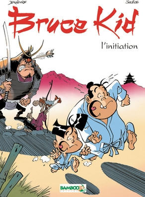 Couverture Bruce kid, tome 1 : L'initiation