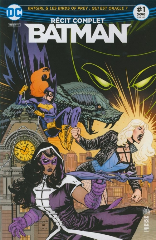 Couverture Batman : Récit complet, tome 1 : Batgirl & les Birds of Prey : Qui est Oracle ?