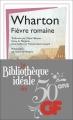 Couverture Fièvre romaine Editions Flammarion 2015